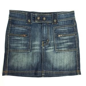 7 For All Mankind Denim Skirt  SEE MEASUREMENTS!